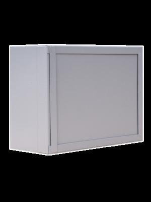 Шкаф настенный антивандальный пенальный SUPRLAN АП-330-В (1,2мм) с планкой