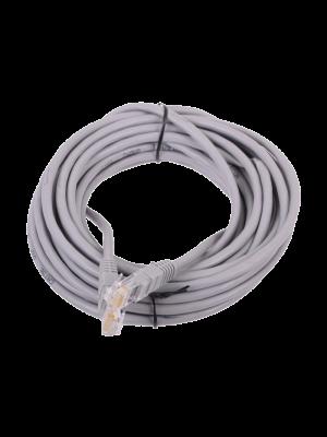 Патчкорд литой  Telecom NA102--7.5M UTP CAT5E серый 7.5M