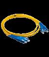 Патч-корд duplex SUPRLAN SC/UPC-SC/UPC 1м