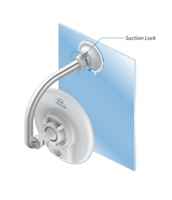 Ubiquiti NanoBeam Window Mount 19