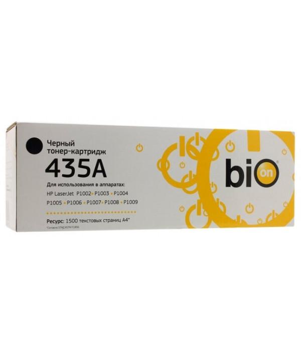 Bion CB435A Картридж для  НР LJ P1005/P1006  1500 страниц   с чипом   [Бион]