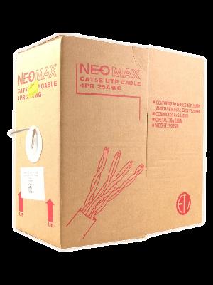 NEOMAX [NM11001] Кабель UTP cat.5е  4 пары (305 м) 0.45мм  Медь
