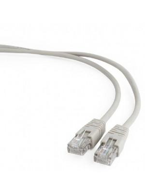 Bion Патч корд UTP кат.5е 0.5м серый CCA, BNPP12-0.5M