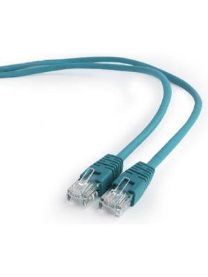 Bion Патч корд UTP кат.5е 0.5м зеленый CCA, BNPP12-0.5M/G