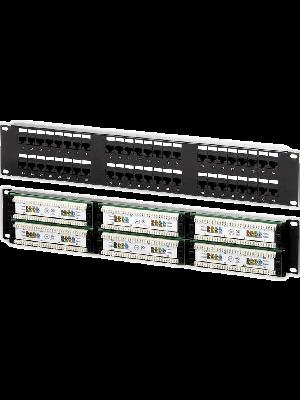 """Neomax Коммутационная панель UTP, 48 портов RJ-45, cat. 6 19"""" ( 6PLB-48D10)"""