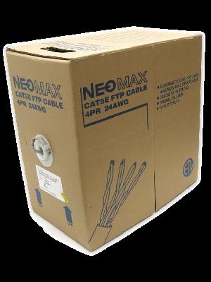 NEOMAX  [NM20001] Кабель FTP cat.5e, 4 пары, (305м) 0.52мм   Медь