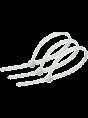Стяжка CV-150 150х2.5 белая (упак. 100 шт.) ( NYT-150X2.5)