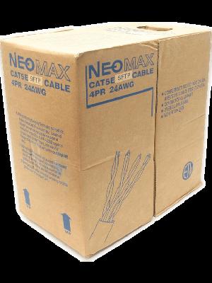 NEOMAX  [NM40001] Кабель S/FTP cat.5e, 4 пары, (305м) 0.51 мм  Медь