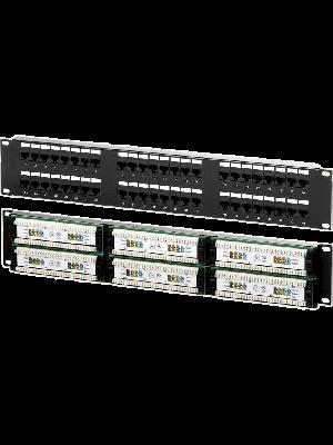 Neomax Коммутационная панель 48 портов RJ45 UTP, Кат. 5e