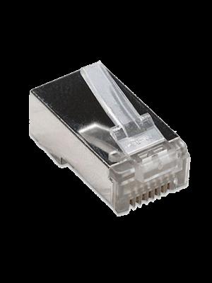 Коннектор RJ-45 для FTP кабеля 5 кат. экранированный VCOM
