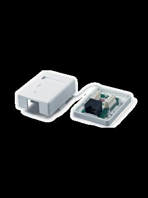 Neomax Розетка RJ-45 8P8C STP для сети кат.5e одинарная (Neomax BX-S-18) экранированная