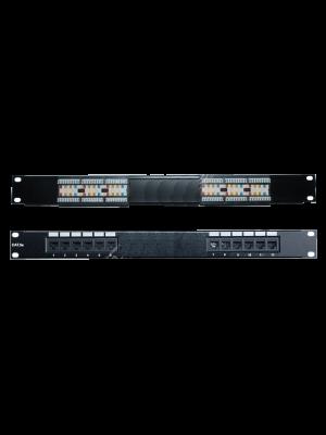"""Neomax Коммутационная панель UTP, 12 портов RJ-45 cat. 5е 19"""" ( EPLH120X )"""
