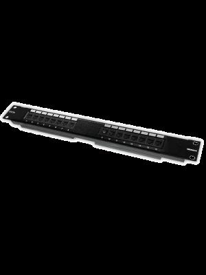 """Neomax Коммутационная панель UTP, 16 портов RJ-45 cat.5e 19""""  ( EPLH160X)"""