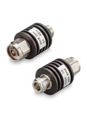 Аттенюатор 30 дБ N-50-30-10 (0-3 ГГц)