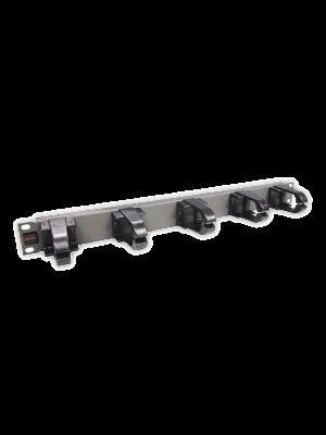 """Кабельный органайзер 19"""",  пластик 5 колец PLMN-070 (N)"""