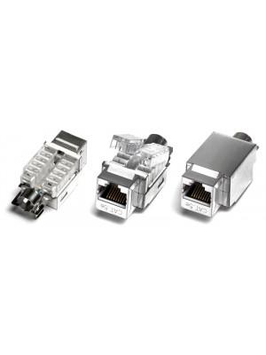 Hyperline KJ2-8P8C-C5e-TLS-SH-F-WH