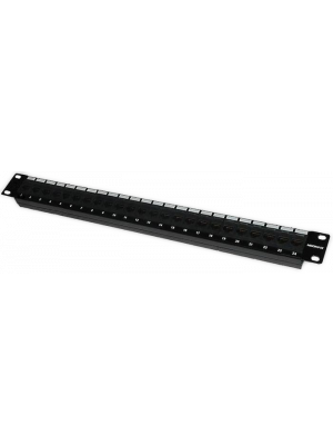 """Neomax Патч панель для кабеля STP, 24 порта RJ-45, cat. 5e 19"""" ( PLV-F24-11 )"""