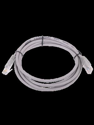 Патчкорд литой  Telecom NA102--2M UTP CAT5E серый 2M