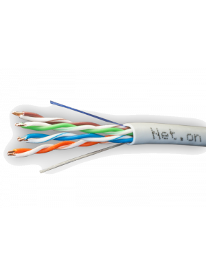 Net.on UTP Cat.5e 4x2xAWG24 CCA PVC Indoor 100m