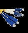 Патч-корд duplex SUPRLAN SC/UPC-LC/UPC 1м - Патчкорд оптический