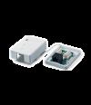 Neomax Розетка RJ-45 8P8C STP для сети кат.5e одинарная (Neomax BX-S-18) экранированная - LAN Розетка RJ-45