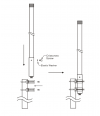 EnGenius EAO-2400-15W Omni 2GHz 15dBi