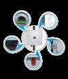 Усилитель сигнала 4G (LTE) LteCom-4GE18D