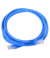 NEOMAX (13001-020B) Шнур коммут. UTP 2 м, кат. 5е - синий - Патчкорд медный
