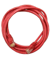 NEOMAX  (13001-015R) Шнур коммут. UTP 1.5 м, кат. 5е - красный - Патчкорд медный