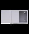 Шкаф настенный антивандальный пенальный SUPRLAN АП-330-В (1,2мм) с планкой - Телекоммуникационные шкафы, ящики