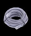 Патчкорд литой  Telecom NA102--10M UTP CAT5E серый 10M - Патчкорд медный