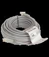 Патчкорд литой  Telecom NA102--15M UTP CAT5E серый 15M - Патчкорд медный