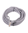 Патчкорд литой  Telecom NA102--5M UTP CAT5E серый 5M - Патчкорд медный