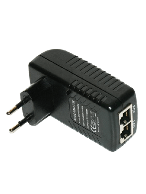 Блок питания Ethernet Adapter with POE 24V 1 A