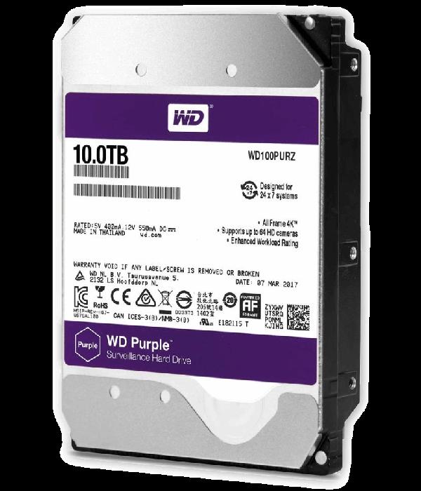 Western Digital WD100PURZ - Жесткий диск