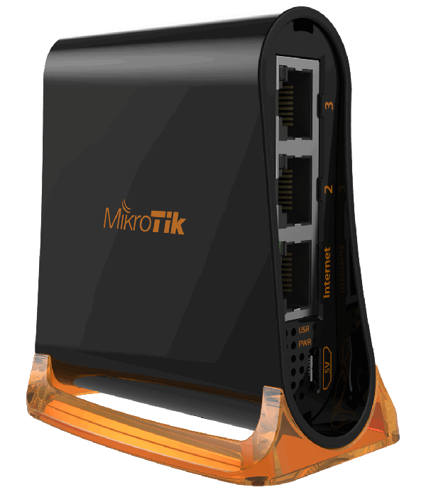 MikroTik hAP mini - Беспроводной маршрутизатор, Точка доступа
