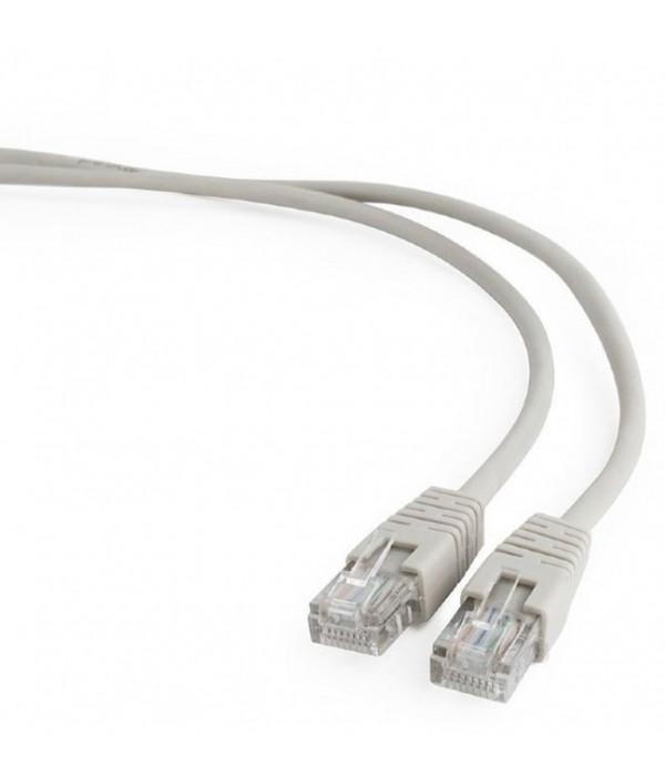 Bion Патч корд UTP кат.5е 3м серый  CCA, BNPP12-3M - Патчкорд медный