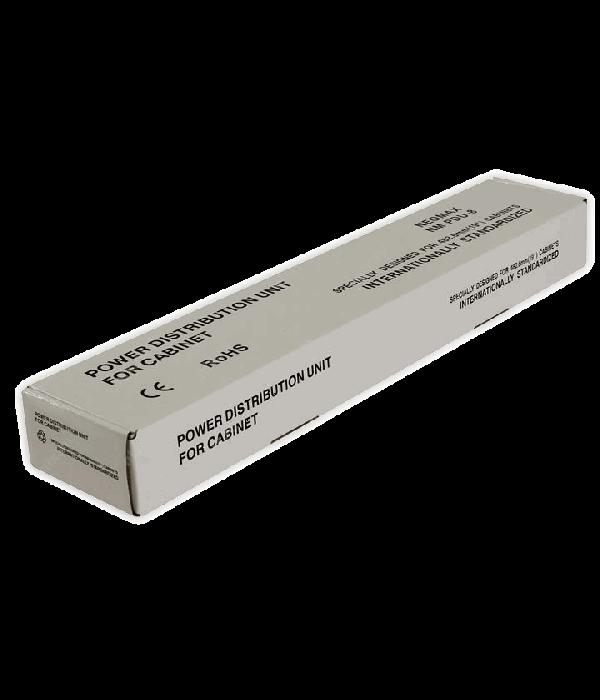 "NEOMAX Блок силовых розеток 19"" NEOMAX без шнура, 8 розеток Noname (NM-PDU-8)"