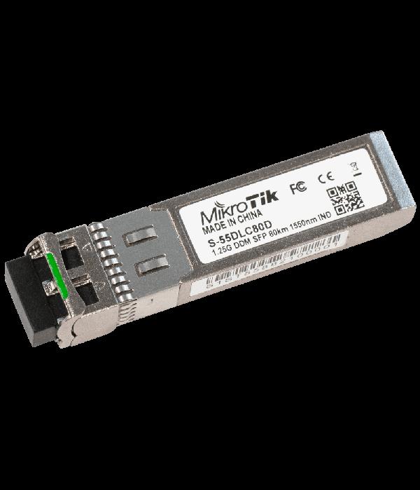 Оптический модуль Mikrotik S-55DLC80D - Трансивер