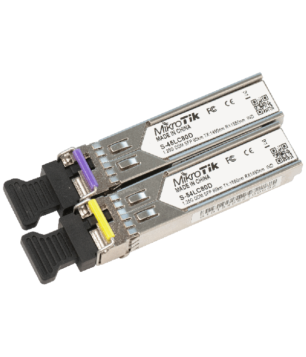 Mikrotik S-4554LC80D - Трансивер