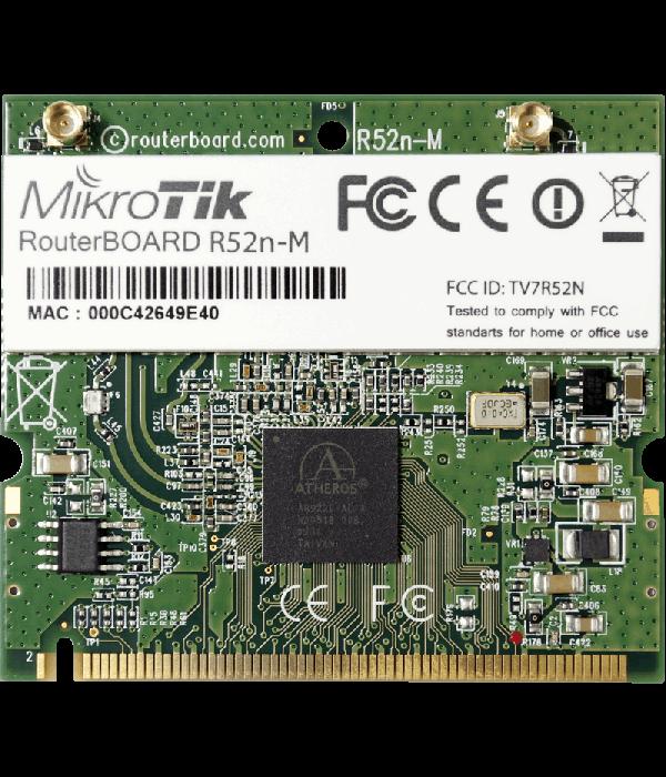 Mikrotik R52n-M - miniPCI Карты