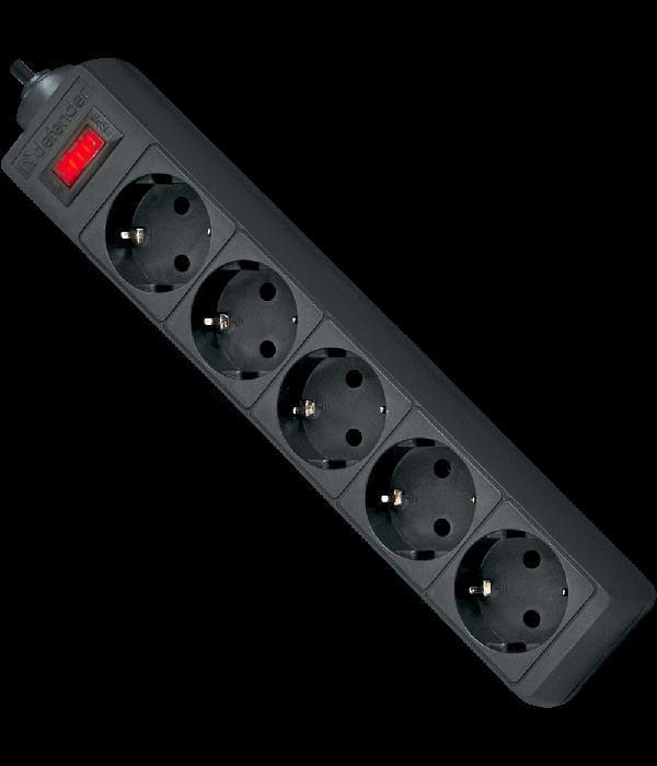 DEFENDER Сетевой фильтр 3M ES 3.0 5OUTL. (99485) - Сетевой фильтр
