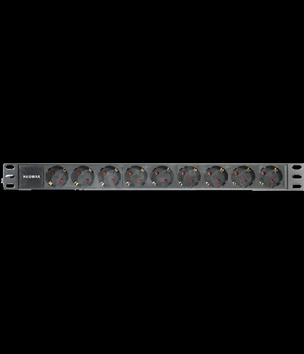 """Neomax 19"""" блок из 9 розеток 220В, шнур [NM-9W PDU] - Блок розеток 220в силовых 19"""""""