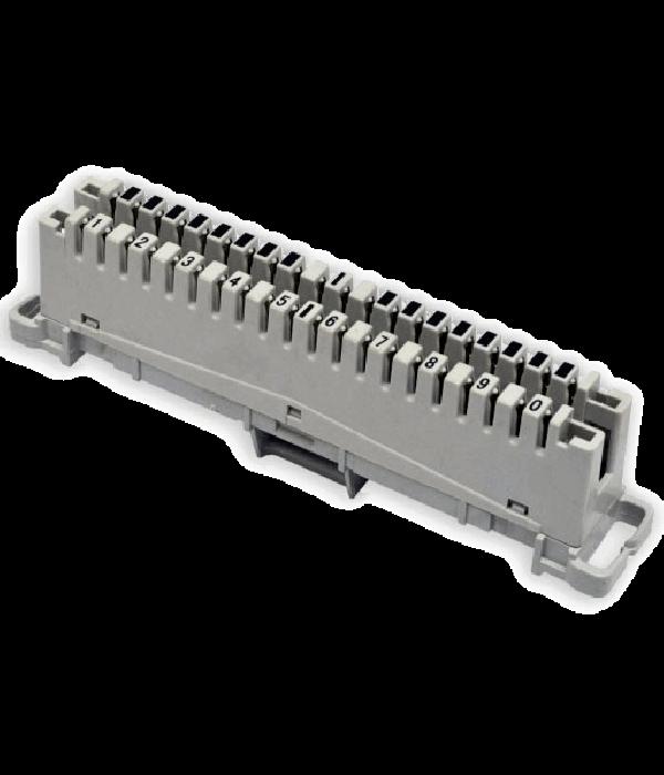 Neomax Плинт неразмыкаемый типа Krone, 10 пар (ECM-10A) - Монтажное оборудование