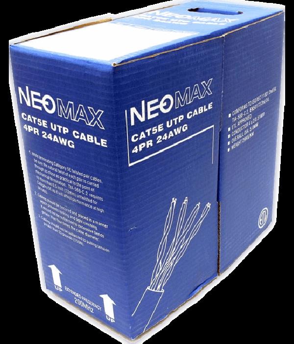 NEOMAX [NM10101] Кабель UTP cat.5e  4 пары (305 м) 0.51 мм Taiwan (200 Mhz)   Медь - LAN Кабель