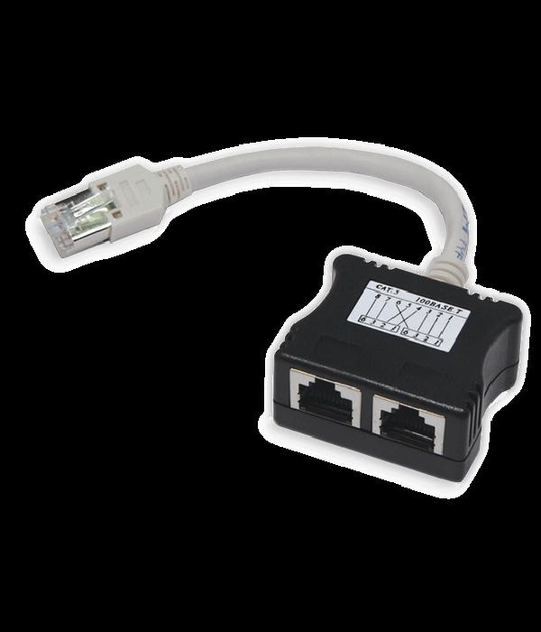 Neomax Разветвитель 100base-T RJ45 на 2 порта cat.5e [TMDU150] - LAN Розетка RJ-45