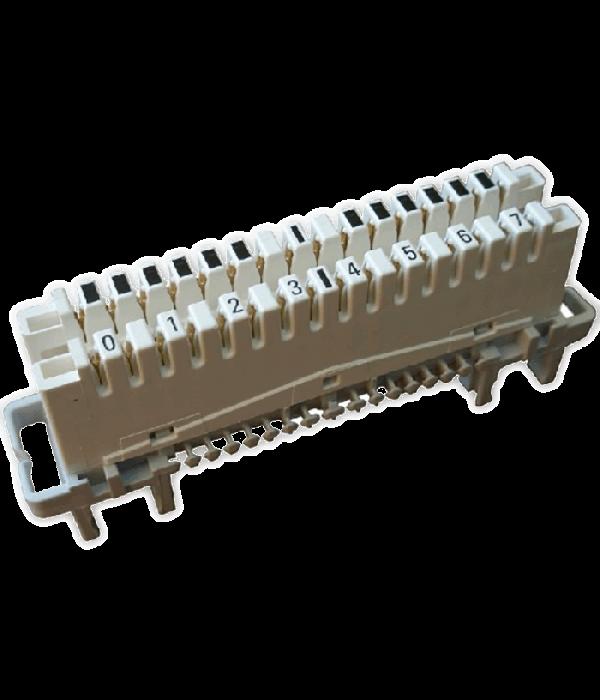 Neomax Плинт, 2/10 с нормально замкнутыми контактами,  [EDM-10A]  LSA-PLUS - Монтажное оборудование