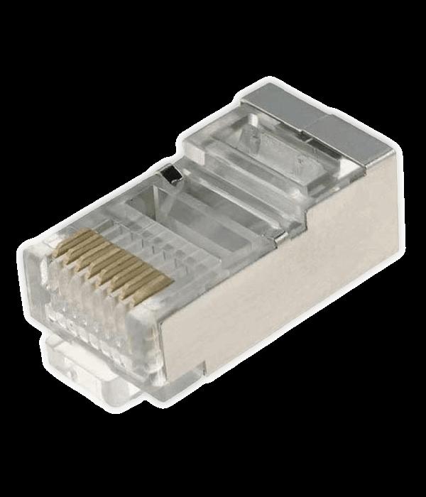 Neomax Разъем RJ45 под однож. кабель,Кат.5 (100шт.) экр. [88RB03V2S] - Коннекторы, соединители