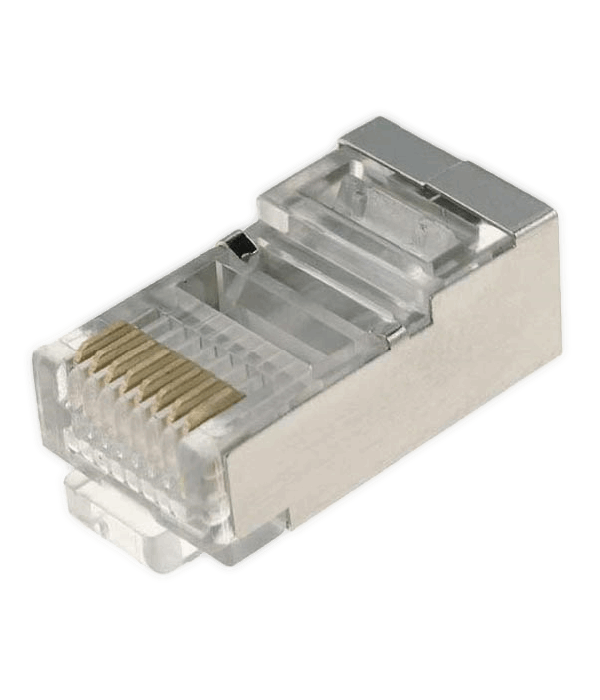 Neomax Разъем RJ45 под однож. кабель,Кат.5 (100шт.) экр. [88RB03V2S]