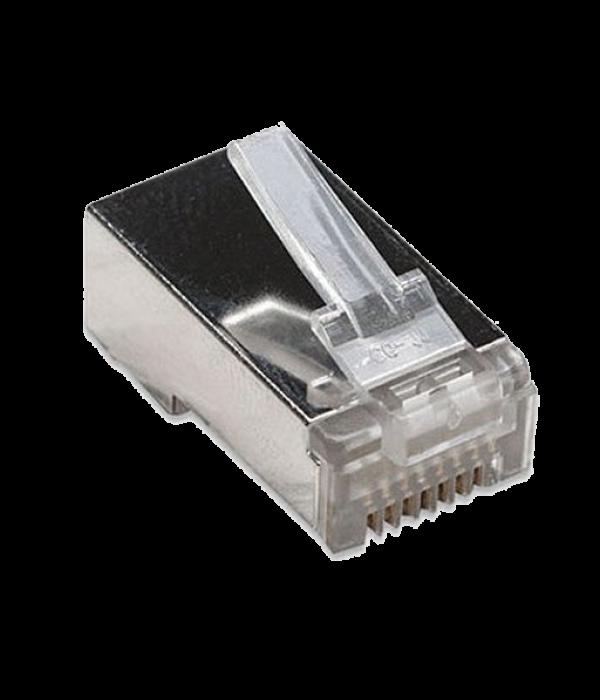 Коннектор RJ-45 для FTP кабеля 5 кат. экранированный VCOM - Коннекторы, соединители